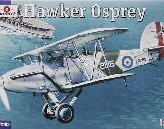 Сборная модель Британский морской разведчик Hawker Osprey