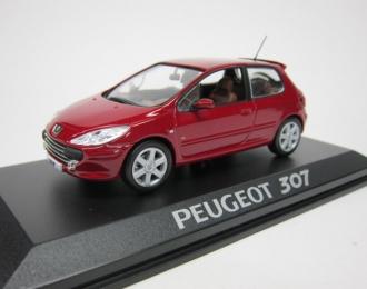 Peugeot 307 facelift (3-двери) 2005 Rouge Babilon