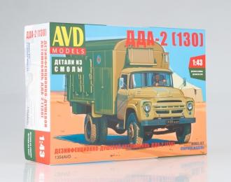 Сборная модель Дезинфекционно-душевой автомобиль ДДА-2 (130)