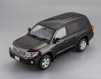 TOYOTA Land Cruiser 200, black