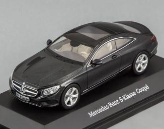 MERCEDES-BENZ S-Class C217 Coupe (2014), black