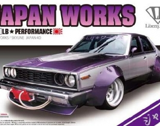 Сборная модель NISSAN Skyline LB Works Japan 4Dr