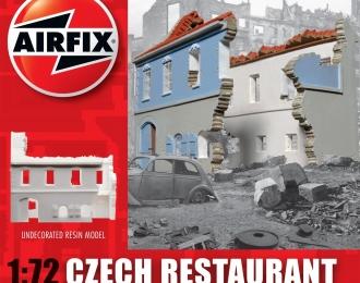 Сборная модель Развалины чешского ресторана
