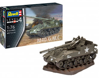 Сборная модель Американская САУ M40 (GMC)