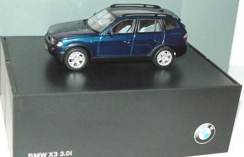 BMW X3 3.0i E83 (2004), mystic blau met.