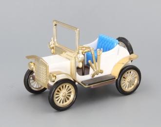 Машинка старинная #2, белый