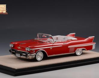 CADILLAC Series 62 Convertible (открытый) 1958 Red
