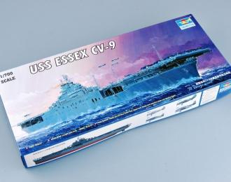 Сборная модель Американский авианосец USS ESSEX CV-9