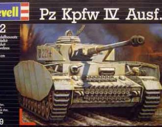 Сборная модель Немецкий танк PzKpfw. IV Ausf. H