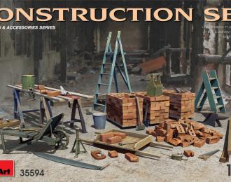 Сборная модель Строительные материалы и инвентарь