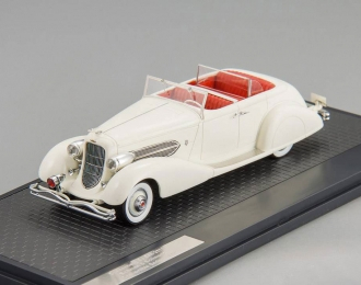 DUESENBERG SJ544-2570 Bohman & Schwartz Convertible (1936), white