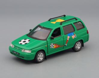 ВАЗ 2111 / LADA 111 Футбол, зеленый