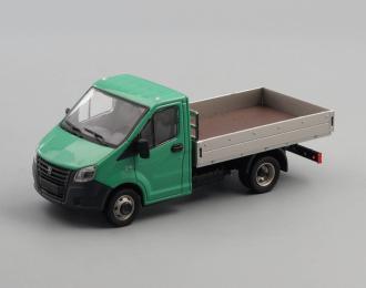 ГАЗель NEXT A21R23 бортовой, зеленый / серый
