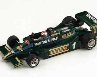 LOTUS Team 79 No.1 4th Long Beach GP Mario Andretti FI (1979), green