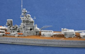 Сборная модель Британский линкор типа «Нельсон» HMS RODNEY