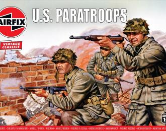 Сборная модель Набор солдатиков WWII US Paratroops