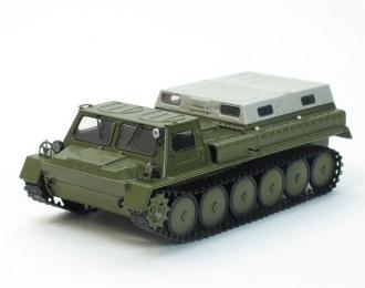 Горький 71 (ГТ-СМ) снегоболотоход, хаки