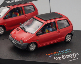 RENAULT Twingo United Colors of Benetton, red / black