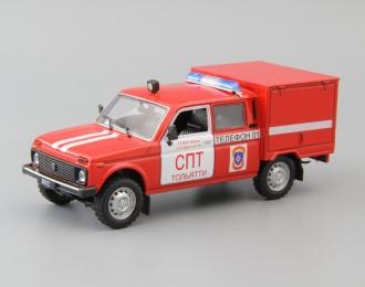 ВИС 294611 Пожарный, Автомобиль на службе 23, красный
