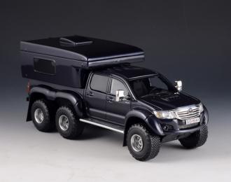 (Уценка!) TOYOTA Hilux AT44 6x6 Arctic Truck RV Version 2014 Dark Blue Metallic