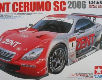 Сборная модель Lexus ZENT Cerumo SC 2006