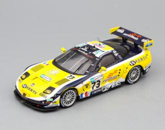 (Уценка!) CHEVROLET Corvette C5R 73 Le Mans 2007, yellow