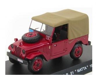 ALFA ROMEO A.R. 51 Matta (1954), red