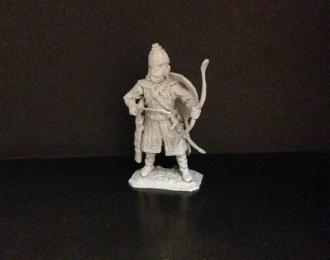 Пеший монгол с луком, войско Мамая (54мм)