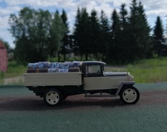 Груз в кузов дрова для Горький-АА (НАП)