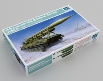 Сборная модель Советский тактический ракетный комплекс Луна 2К6