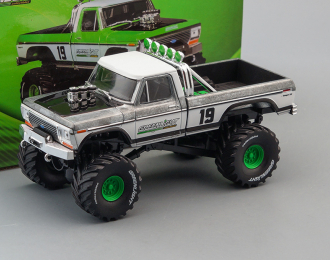 "FORD F-250 Monster Truck Bigfoot #19 ""GreenLight Racing Team"" 1974 (Greenlight!)"