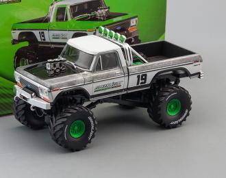 """FORD F-250 Monster Truck Bigfoot #19 """"GreenLight Racing Team"""" 1974 (Greenlight!)"""