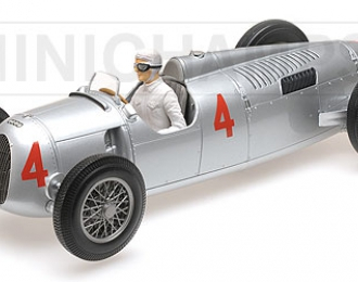 AUTO UNION TYP C - ACHILLE VARZI - 2ND PLACE GRAND PRIX AUTOMOBILE DE MONACO 1936