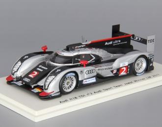 AUDI R18 TDI #2 Audi Sport Team Joest Winner LM (2011), silver / black