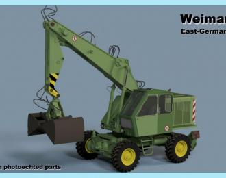 Сборная модель Экскаватор Weimar T174