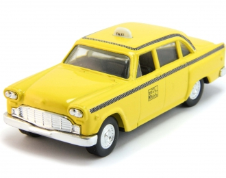 CHECKER Cab, yellow