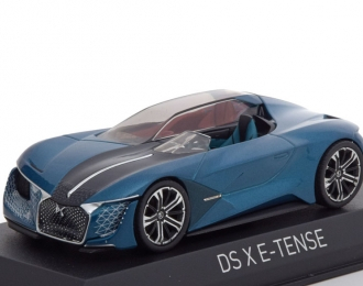 CITROEN DS X E-Tense Concept Car 2018 Metallic Blue
