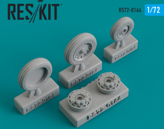 Колеса для F-8 Crusader Type 1 wheels set