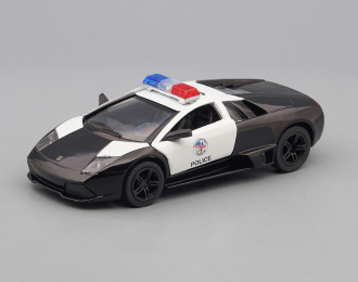 LAMBORGHINI Murcielago LP640 Police, black / white