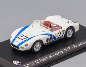 MASERATI 200 SI #27 Reventlow - Pollack 12 Hours of Sebring 1957