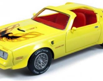 PONTIAC Firebird Trans Am (1977), yellow