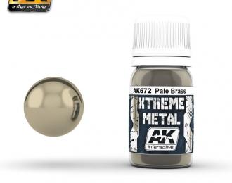 XTREME METAL PALE BRASS (металлик бледная латунь)