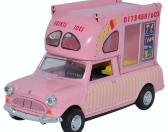 "AUSTIN Mini Pick-Up Bat Man Ice Cream ""Husky's Ices"" 1980"