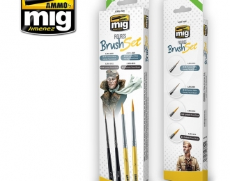 FIGURES BRUSH SET