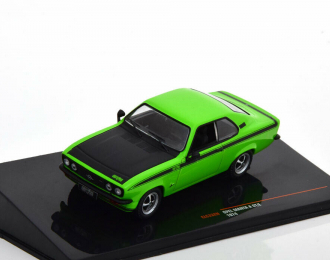 OPEL Manta A GT/E 1974 Light Green/Black