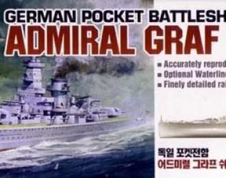"""Сборная модель Линкор """"Адмирал граф Шпее"""""""