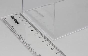 Прозрачный колпак для бокса S_B (153х88х65мм)