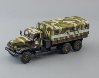 КРАЗ 255 Спецназ, камуфляж + световые и звуковые эффекты