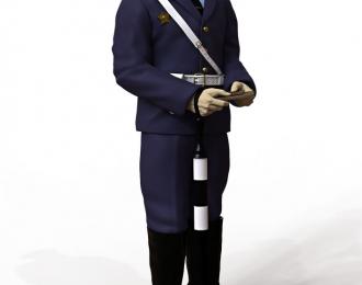 Сборная модель Фигура Инспектор ГАИ №2, комплект 2 шт.