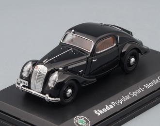 SKODA Popular Sport Monte Carlo 1935, black